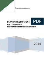 Buku Standar Kompetensi TLM Indonesia(1)