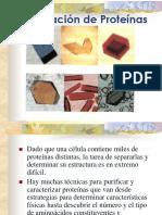 8. Purificación de Proteínas