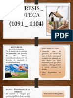Anticresis y hipoteca.pptx