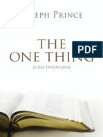 The One Thing ! Joseph Prince - pdf size 1.3 MB.