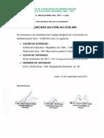 ELECCIONES COLEGIO