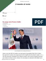 Peña Nieto en El Mundo Al Revés