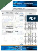 TWI (India) _ 2017 Candiadate Schedule