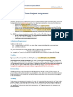 DSC1007 Team Project Assignment