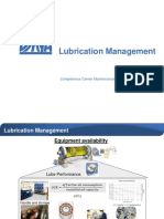Lubrication Management