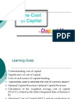 Chapter # 06 -Cost of Capital