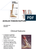 Achilles Tendon Rupture Metatarsal Rupture