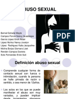 Abuso Sexual en La Adolescencia