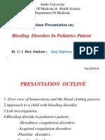 presantationonbleedingdisorderinpediatricpatients-140417064641-phpapp01