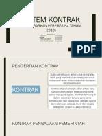 Sistem Kontrak