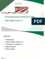 20 July 2017 Press Release Fssc 22000 Fssc 22000 Version 4.1