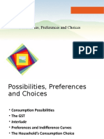 9. Possibilities, Preferences and Choices Extended