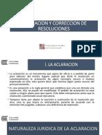 ACLARACION Y CORRECCION DE RESOLUCIONES - ucci.pptx
