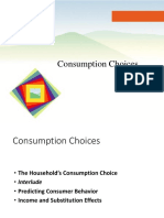 10. Consumption Choices