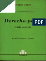 Derecho Penal - Parte General - Carlos Creus