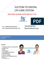 INTRODUCTION TO DIGITAL HEALTH CARE SYSTEM.pptx