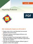 11. Organizing Production