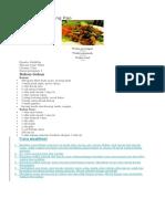 61. Resep Ayam Kung Pao