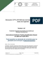 ISTQB - Glossaire Des Tests de Logiciel 2 2 F P1