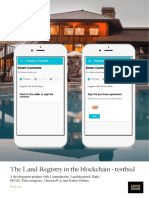 Blockchain Landregistry Report