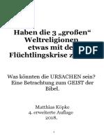 """Köpke, Matthias - Haben die 3 """"großen"""" Weltreligionen etwas mit der Flüchtlingskrise zu tun? 2017.pdf"""