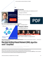 How Does Artifical Neural Network (ANN) Works_ Simplified!