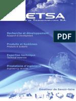 Catalogue ETSA