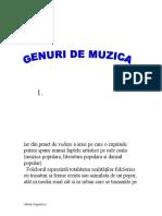 Muzica Si Muzica, Noi Genuri Pentru Fiecare Placere a Omului