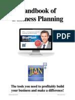 Handbook of Business Planning