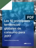 10 Principales Tendencias de Consumo 2017