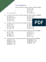 Ejercicios Factores Conversion