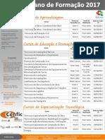 CENFIC Plano de Formação 2017, Vs170606