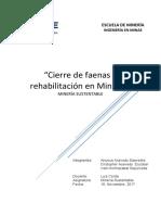Cierre de Faenas y Rehabilitacion Minera Doc