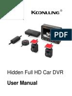 KOONLUNG K1S English User Manual