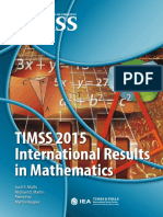 T15 International Results in Mathematics