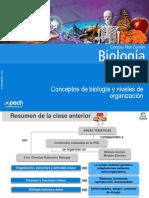 Clase 2 Conceptos de biología y niveles de organización 2015.ppt
