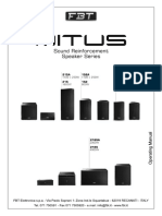 Manual FBT MITUS 152_215_218_114 UK