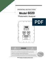 Man_6020 Photometric Analyzer