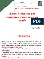 Chapitre 2-Analyse Texturale Par Adsoption d'Une Molécule Sonde