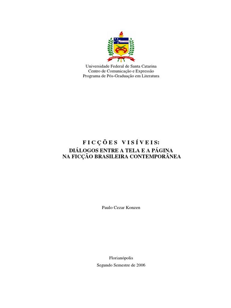 6d0b7ded58 Ficções Visiveis Ignacio de Loyola Brandão