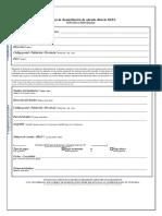 Formulario Mandato Simple