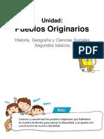 PPT Unidad Pueblos Originarios Historia