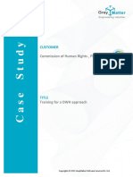 Pentaho Training Case Study of Commission of Human Rights CHR, Philippines - GrayMatter