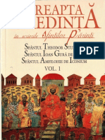 Dreapta Credinta in Scrierile Sfintilor Parinti Vol1 PDF (1)