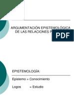 Sesion 05 - Argumentación Epistemológica