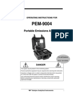 Man_pem9004 Portable Emissions Analyzer