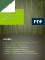 Sub – Módulo 1.1 - Conteúdos