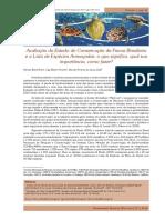 Avaliação Do Estado de Conservação Da Fauna Brasileira-Tartarugas