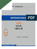 D25RE2MaintenanceManual 10-19-05
