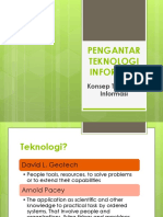 1.1 Teknologi Dan Informasi